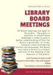 CPL Board Meeting @ Chetwynd Public Library