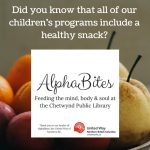 Did you know that all of our children's programs include a healthy snack-