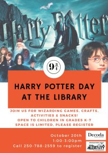 Harry Potter Day at the Library