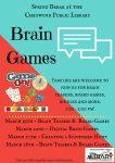 Spring Break @ the CPL - Brain Games! @ Chetwynd Public Library