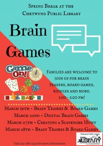 Spring Break - Brain Games
