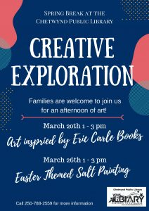 Spring Break - Creative Exploration