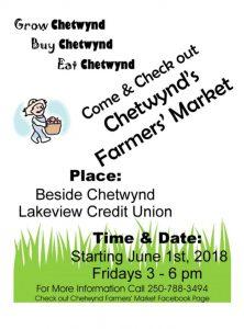 Farmer's Market @ Chetwynd Farmer's Market