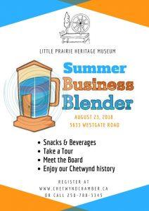 Business Blender @ Little Prairie Heritage Museum