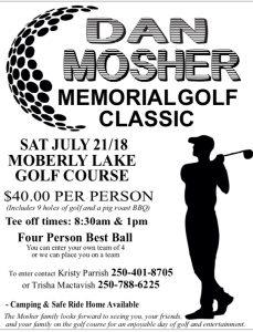 Dan Mosher Memorial Golf Classic