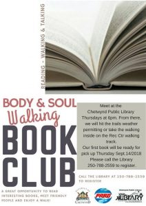 Body & Soul Walking Book Club @ Chetwynd Public Library