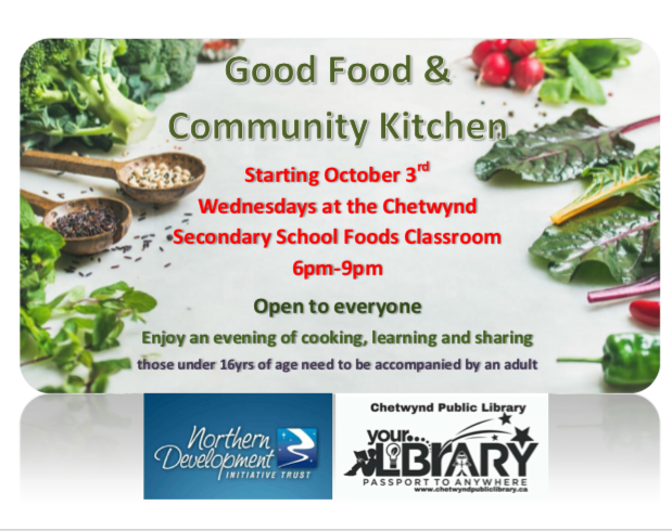 Good Food & Community Kitchen @ Chetwynd Secondary School