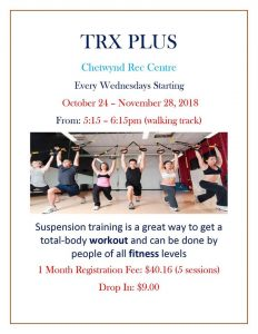 TRX Plus @ Chetwynd & District Rec Centre
