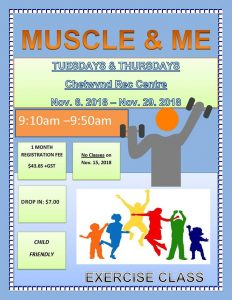 Muscle & Me @ Chetwynd & District Rec Centre