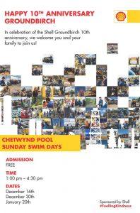 Shell Sponsored Free Swim @ Chetwynd & District Rec Centre