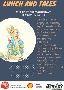 Lunch & Tales @ Chetwynd Public Library