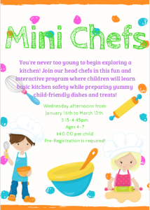 Mini Chefs @ Chetwynd & District Rec Centre
