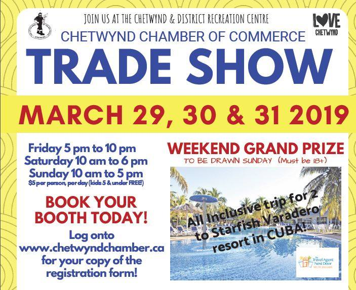 Trade Show @ Chetwynd & District Rec Centre