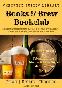 Books & Brews @ River House Restaurant