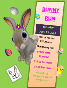 Bunny Run @ Chetwynd & District Rec Centre