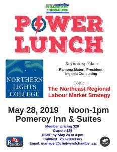 Power Lunch @ Pomeroy Inn & Suites Chetwynd