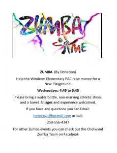 Zumba @ Windrem Elementary School