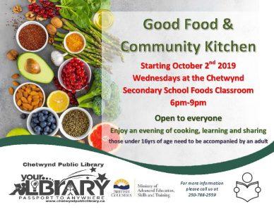 Good Food & Community Kitchen @ CSS Food Room