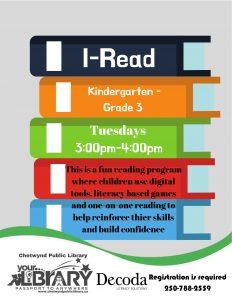 I-Read @ Chetwynd Public Library