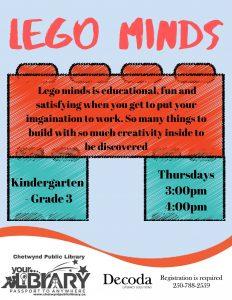 Lego Minds @ Chetwynd Public Library