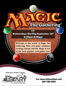 Magic Game Night @ Chetwynd Public Library