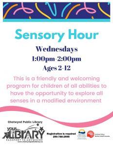 Sensory Hour @ Chetwynd Public Library
