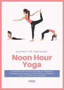 Noon Hour Yoga @ Chetwynd Recreation Centre