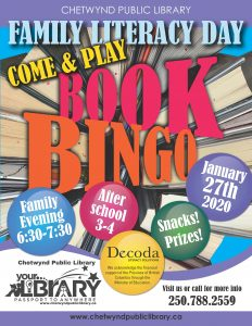 Family Literacy Day - After School @ Chetwynd Public Library