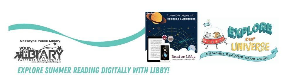 Explore Summer Reading digitally with Libby!