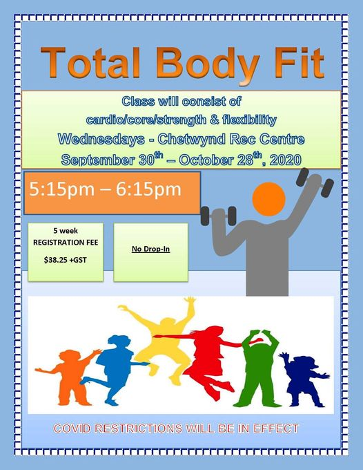 Total Body Fit @ Chetwynd and District rec Centre